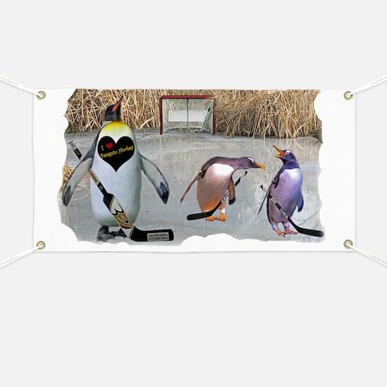 Penguin Hockey Banner
