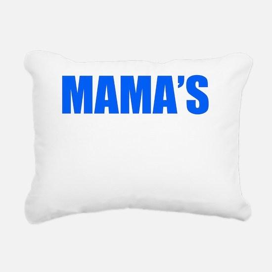 MAMAS BOY Rectangular Canvas Pillow