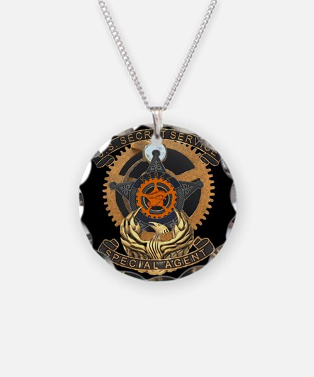 Steampunk Secret Service Bad Necklace