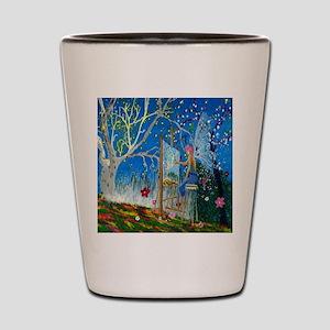 Fairy Artist Shot Glass