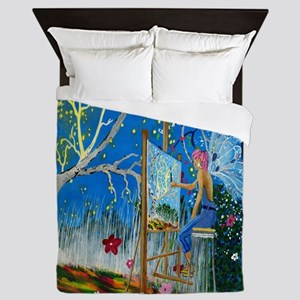 Fairy Artist Queen Duvet
