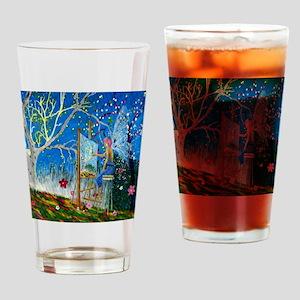 Fairy Artist Drinking Glass