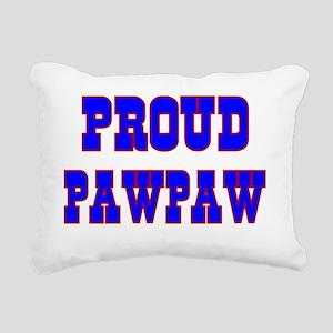 Proud Pawpaw Rectangular Canvas Pillow