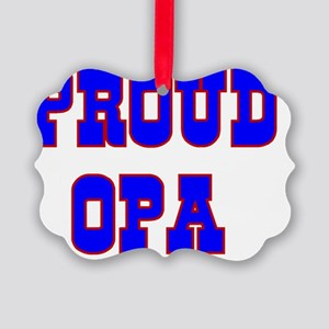 Proud opa Picture Ornament