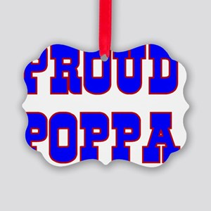 Proud Poppa Picture Ornament