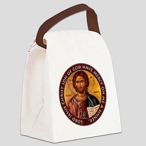 Jesus Prayer Canvas Lunch Bag