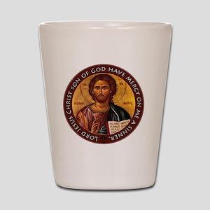 Jesus Prayer Shot Glass