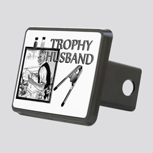 TrophyHusband banner Rectangular Hitch Cover