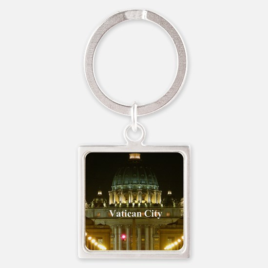VaticanCity_2.5x3.5_Ornament (Oval Square Keychain