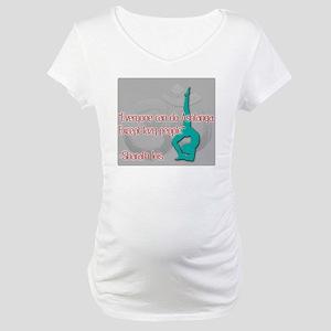 Ashtanga for everyone Maternity T-Shirt