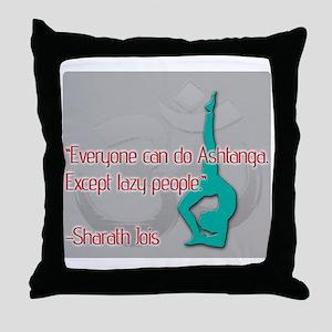 Ashtanga for everyone Throw Pillow