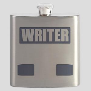 Writer Bullet-Proof Vest Flask