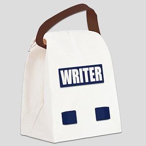 Writer Bullet-Proof Vest Canvas Lunch Bag