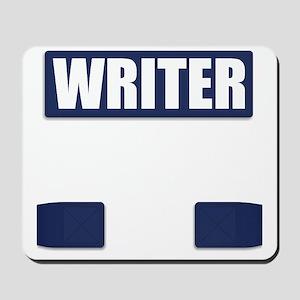 Writer Bullet-Proof Vest Mousepad
