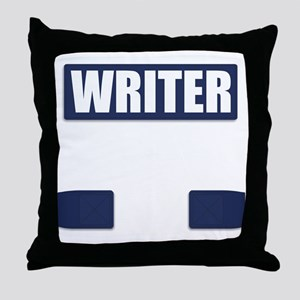 Writer Bullet-Proof Vest Throw Pillow