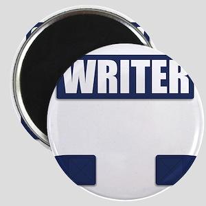 Writer Bullet-Proof Vest Magnet