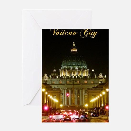 VaticanCity_6.608x9.86_NookSleeve_Sa Greeting Card