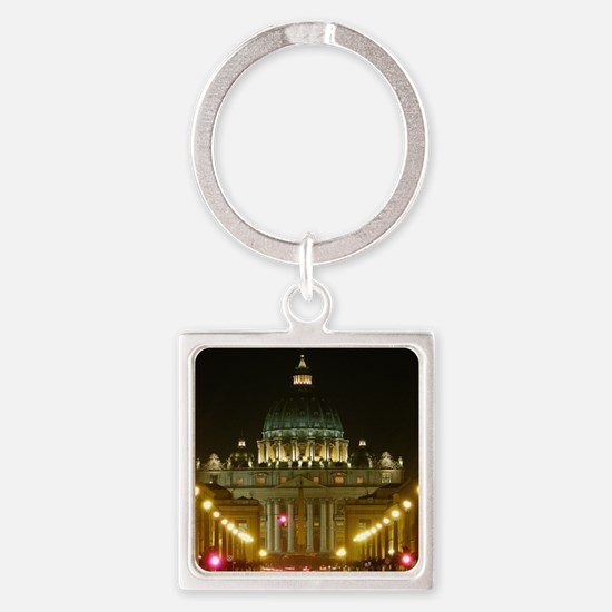 VaticanCity_6.608x9.86_NookSleeve_ Square Keychain