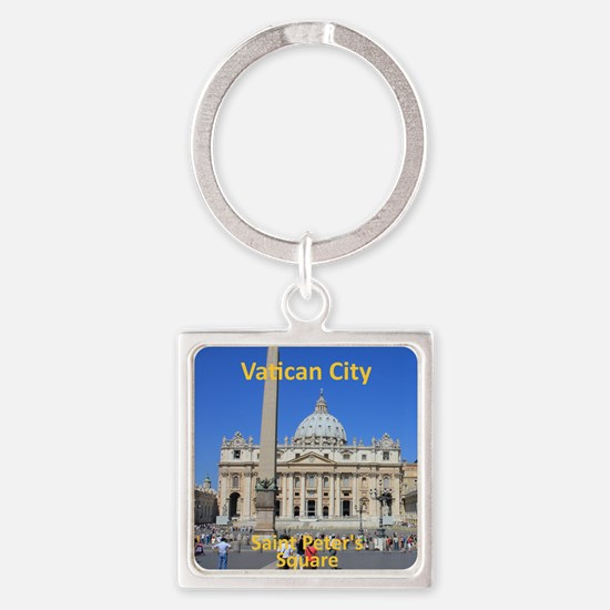 VaticanCity_8.887x11.16_iPadSleeve Square Keychain