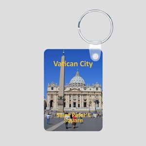 VaticanCity_8.887x11.16_iP Aluminum Photo Keychain
