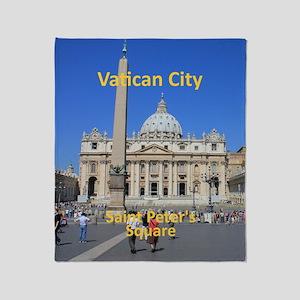 VaticanCity_8.887x11.16_iPadSleeve_S Throw Blanket