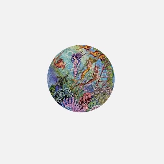 Mermaid Shower! Mini Button