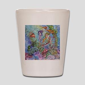 Mermaid Shower! Shot Glass