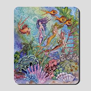 Mermaid Shower! Mousepad