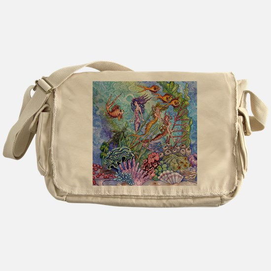 Mermaid Shower! Messenger Bag