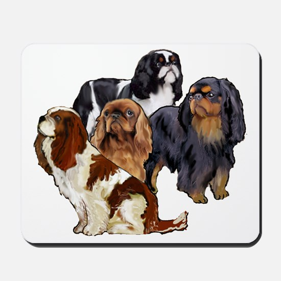English Toy Spaniels Mousepad