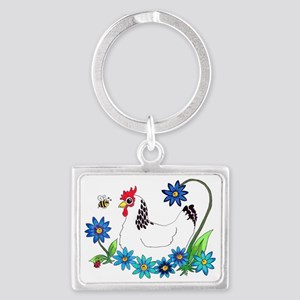 SPRING IS IN THE AIR Landscape Keychain