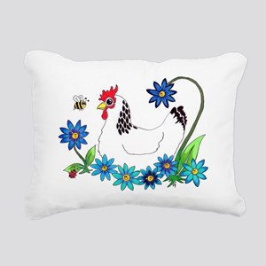 SPRING IS IN THE AIR Rectangular Canvas Pillow