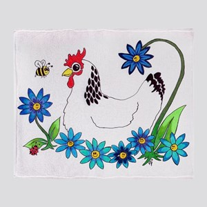 SPRING IS IN THE AIR Throw Blanket