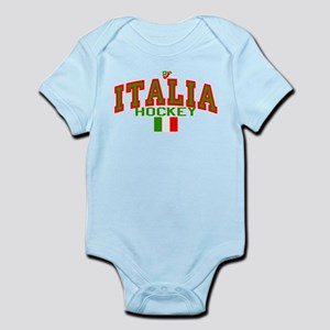 IT Italy Italia Hockey Infant Bodysuit