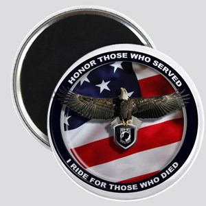 POW - Ride for those who died Magnet