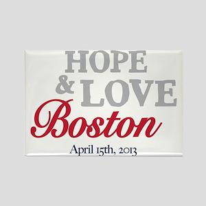 Boston Runners Rectangle Magnet