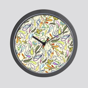 Crazy For Paisley Wall Clock