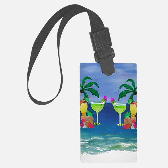 Tropical Drinks Luggage Tag