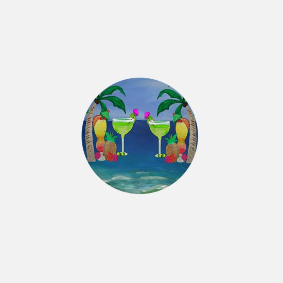Tropical Drinks Mini Button