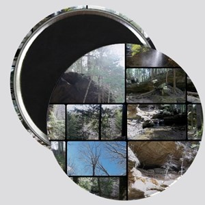 Hocking HIlls State Park Collage Magnet