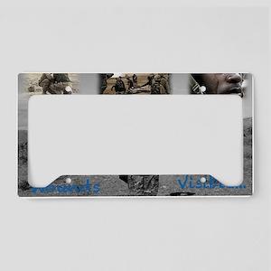 PTSD License Plate Holder