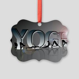 YOGA Bold Picture Ornament