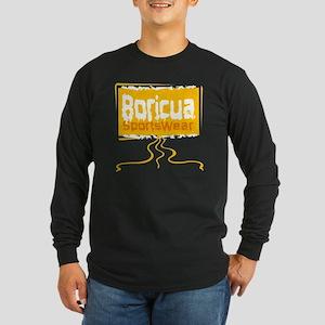 Boricua Long Sleeve Dark T-Shirt
