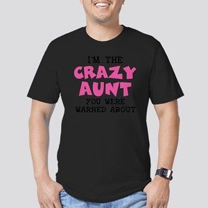 Crazy Aunt Men's Fitted T-Shirt (dark)