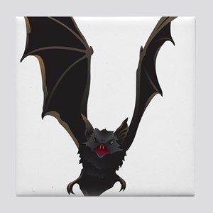 Vampire Bat Tile Coaster