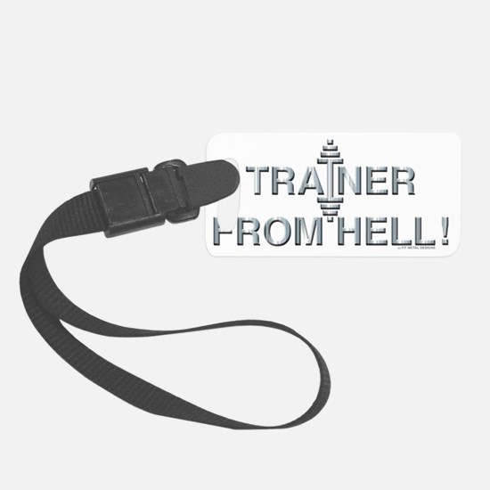 TRAINER FROM HELL! - Fit Metal D Luggage Tag