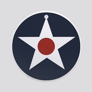 USAAF roundel Round Ornament