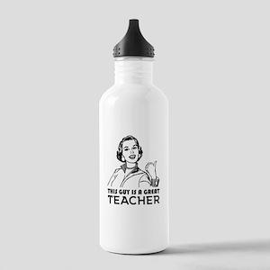 Great teacher. School Stainless Water Bottle 1.0L