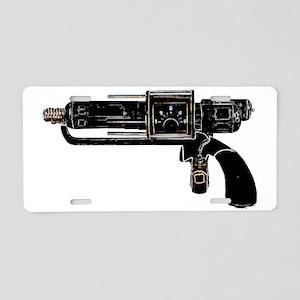 Tesla Ray Gun Aluminum License Plate
