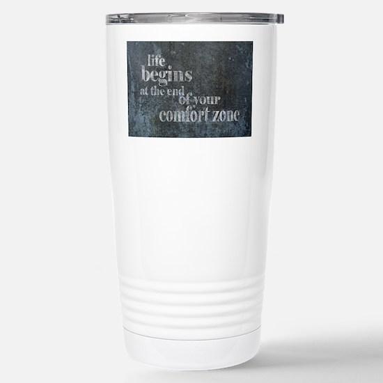 Life Begins Stainless Steel Travel Mug